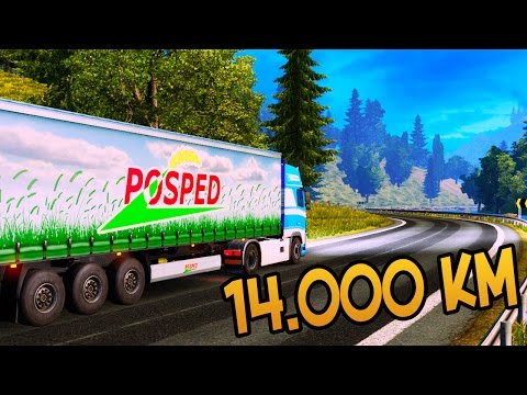 Euro Truck Simulator 2 ч1 - Новичкам везёт.