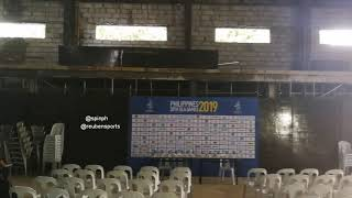 Look: Press Center Of The Rizal Memorial Football Stadium For The 30th Southeast Asian Games