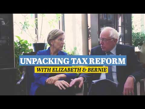 Bernie Sanders: Yuge tax cuts for multinational corporations and the top 1%