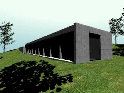 Tadao Ando  Casa Koshino  Exterior dormitorios  YouTube