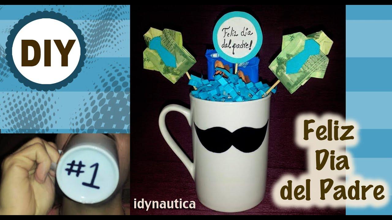 Diy taza personalizada para el dia del padre youtube for Decoracion x el dia del padre