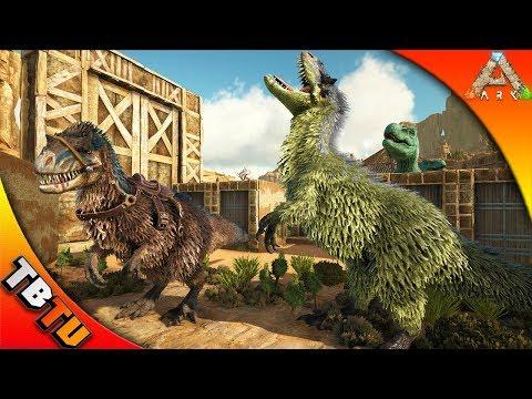 YUTYRANNUS COLOR MUTATION! ARK SURVIVAL BREEDING! ARK Survival Scoreched Earth   Gaming Evolved