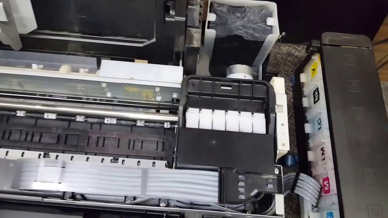 how to fix epson l800 general error or epson l800 red light blinking problem