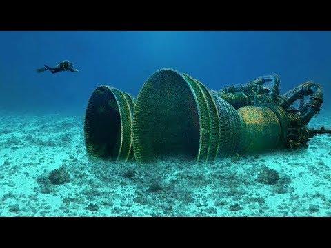 Топ 10 Шокирующих Находок, Обнаруженных Под Водой ч.2
