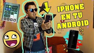 Un poco del IPHONE X, en tu ANDROID | Keimonday