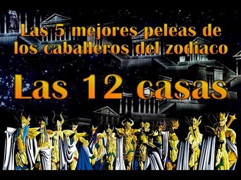 Las 5 mejores peleas de los caballeros del zodiaco las 12 casas asurekazani - Casas del zodiaco ...