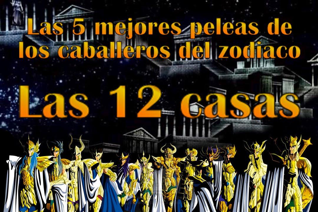Las 5 mejores peleas de los caballeros del zodiaco las 12 - Casas del zodiaco ...