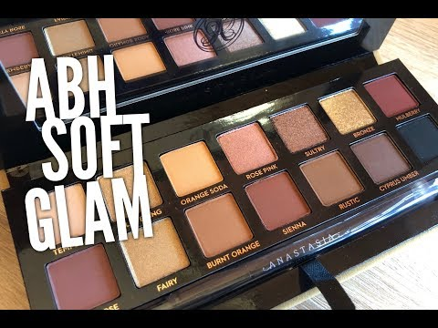 ABH Soft Glam & New Bronzer First Impressions and Tutorial