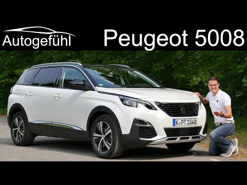 Peugeot 5008 FULL REVIEW – this or 3008 ? – Autogefühl