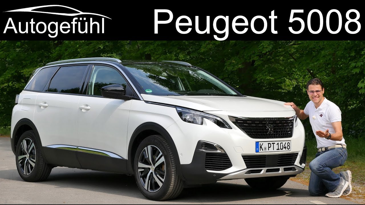 Peugeot 5008 review 2020