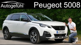 Peugeot 5008 FULL REVIEW - this or 3008 ? - Autogefühl