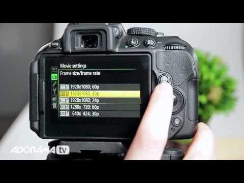 Nikon D5300 DX-Format DSLR Camera: Product Overview: Adorama Photography TV