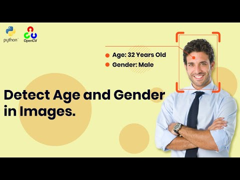 How to Detect Age and Gender in Face Images using Python