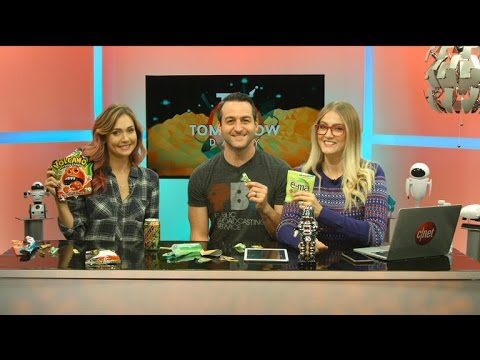 Tomorrow Daily - Deep Dive: Jessica Chobot tests Japanese candy with us, Ep. 285