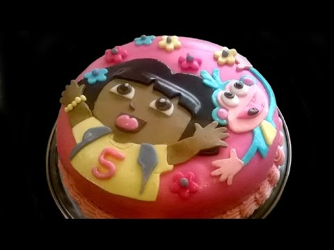 [Full Download] How To Make Dora S Face With Gum Paste For ...
