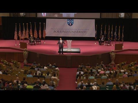 Senator Tim Scott Speaks at Bob Jones University April 22, 2014