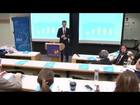 Exploring Global Prosperity - 2014 Legatum Prosperity Index at MIT