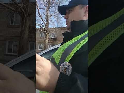 Полиция в Доманевке.разводит вод.на еврономерах.