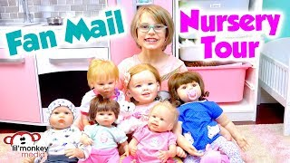 My Reborns Nursery Room Tour Fan Mail