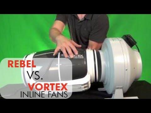Vortex S-Line 800-600 8 Inch Duct Fan | New Inline Fan From Vortex | Test Comparison Review Demo