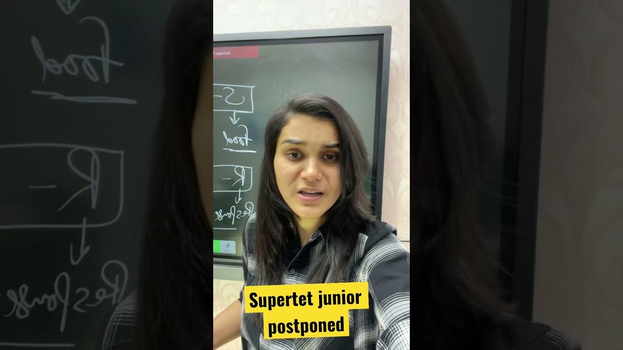 UP-SUPERTET Jr. postponed till further notice.