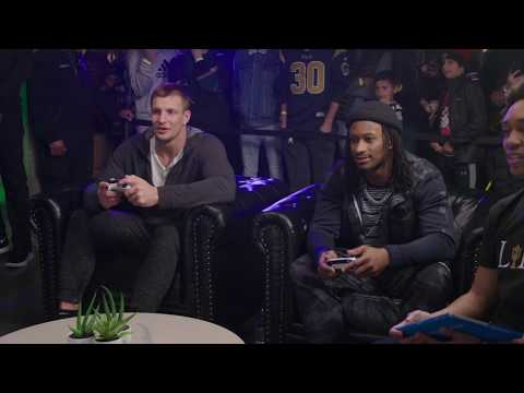 Angie Ward - Gurley vs Gronk! Two of NFL's finest battle it out!