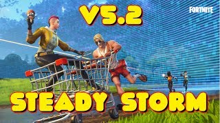 NEW STEADY STORM LTM IN FORTNITE UPDATE v5.2 PATCH NOTES