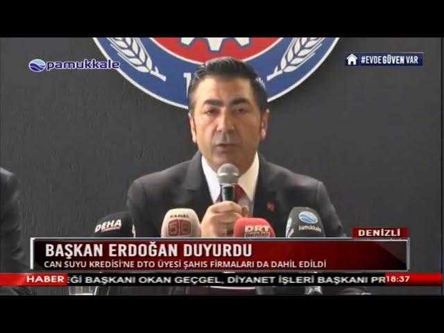 Pamukkkale TV-Başkan Erdoğan duyurdu 30.04.2020