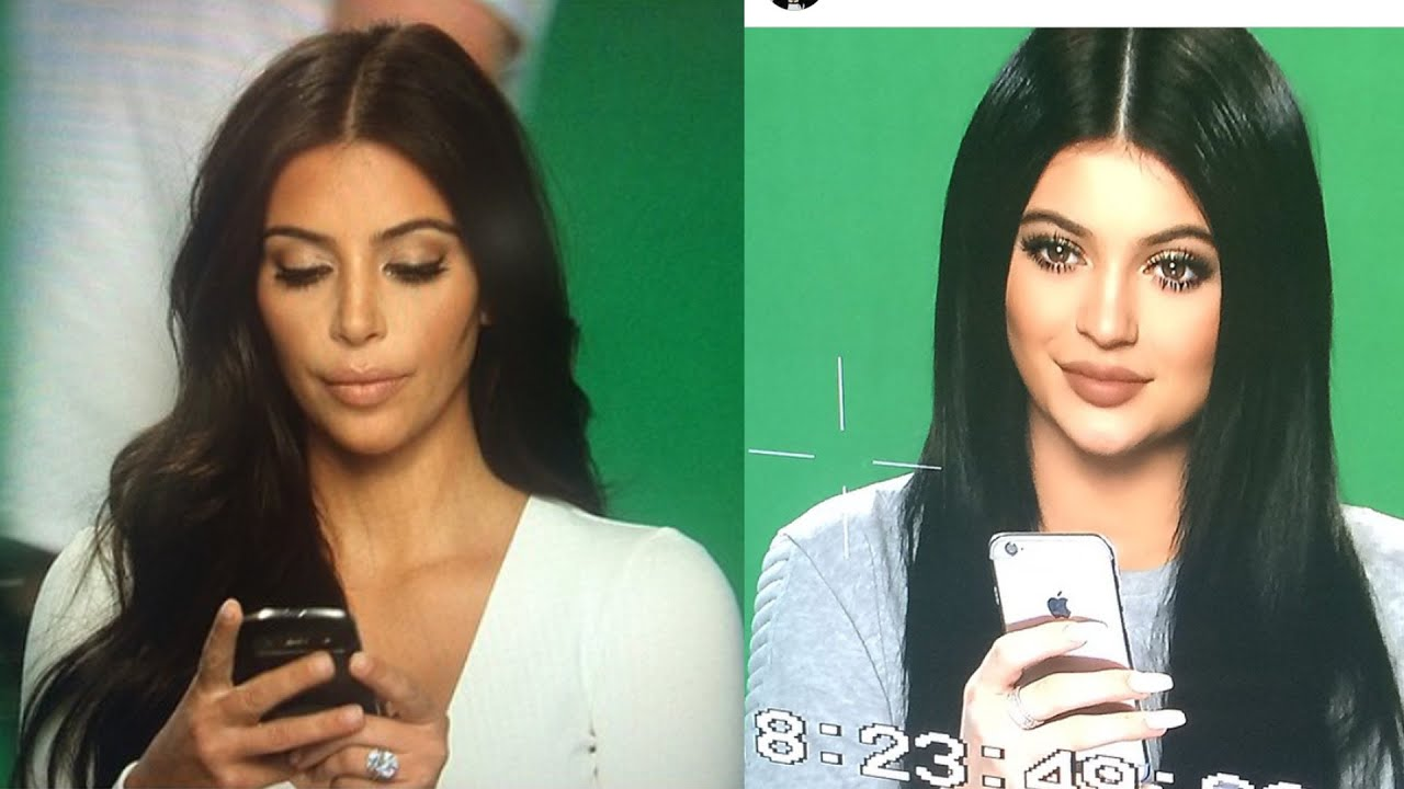 Kylie Jenner Posts Almost Identical Pic Of Kim Kardashian ...