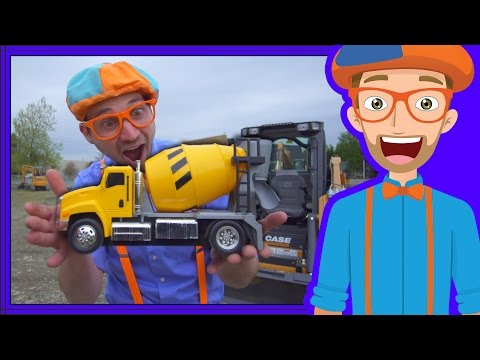 Learn Diggers for Children with Blippi | Videos for Toddlers