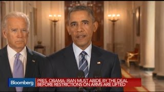 Obama: Iran Sanctions Led to Diplomatic Resolution