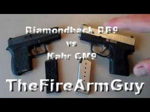 Diamondback Db9 Vs Kahr Cm9 Thefirearmguy Youtube