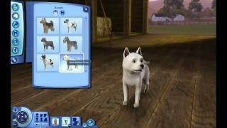The Sims 3 Pets Dog Breeds