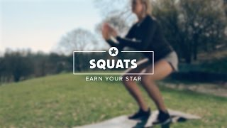 Earn your star - how to do Squats right
