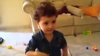 بنت سورية معصبة بدها تروح برا البيت ههههه