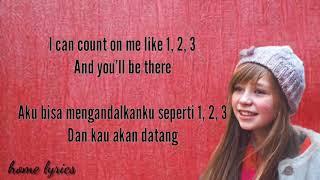 Count On Me   Connie Talbot  Lirik dan terjemahan ( indonesia)