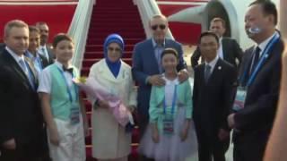 Cumhurbaşkanı Erdoğan G20 İçin Çin'de