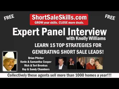 15 TOP STRATEGIES FOR GENERATING SHORT SALE LEADS!!!