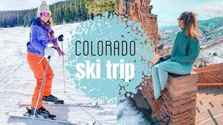 Skiing in Colorado - My First Time Skiing! + Denver, Colorado Travel Vlog!