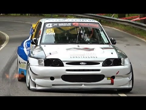 600Hp Ford Escort Cosworth || Explosive Turbo Sound & Flames - Falperra 2018