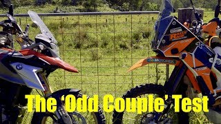 Test BMW G 310GS Versus KTM690 - The Odd Couple  - Rally Raid Products