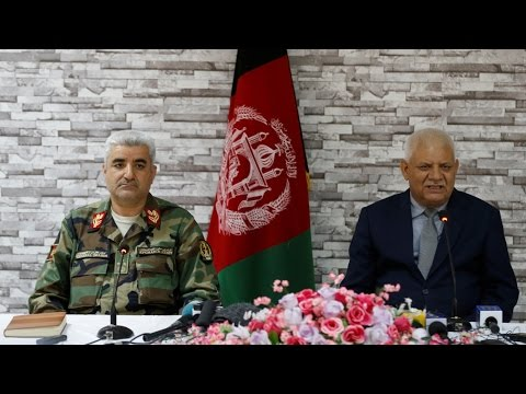 Top Afghan Defense Officials Resign After Deadly Attack On Base in Mazar
