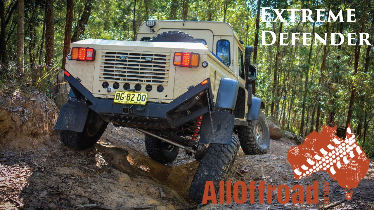 4x4 Extreme Defender on Portal Axles and Rear Steer ...