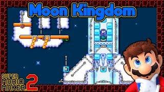 Super Mario Maker 2 - Moon Kingdom Remake from Super Mario Odyssey