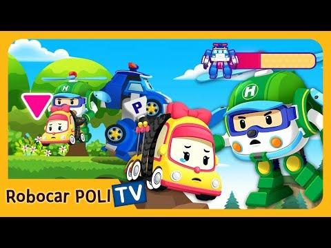 POLI Game | We should call the rescue team! | for Kids | Robocar POLI