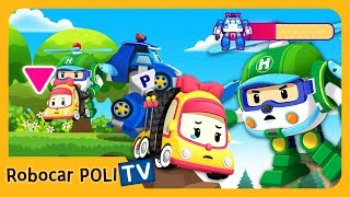 POLI Game | We should call the rescue team! | for Kids | Robocar POLI