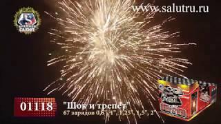 Купить салют-фейерверк на свадьбу, день рождения «Шок и трепет» в Самаре и Тольятти.