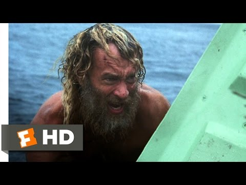 Cast Away 5/8 Movie   Escape to Sea 2000 HD