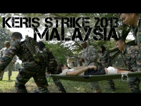 Malaysia and U.S. Military Exercise - Keris Strike