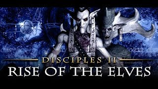 Disciples II: Rise of the Elves Gameplay but No Commentary.